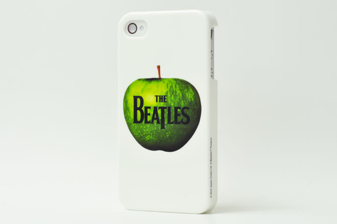 THE BEATLES on Apple iPhone4カバー