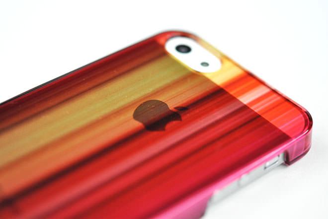 iPhone5カバー 昇華転写印刷