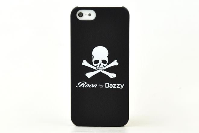 スカルデザイン iPhone5カバー 株式会社Dazzy様