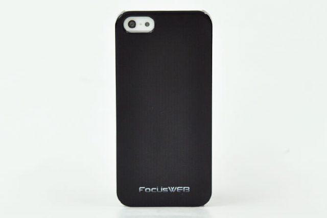 FocusWEB様のロゴマーク入りiPhone5カバー