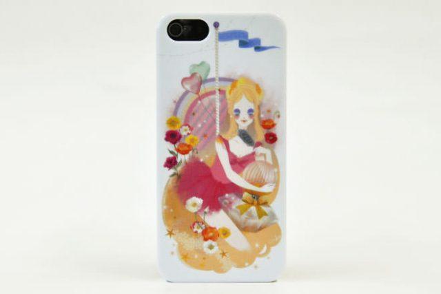 美少女 iPhone5カバー K様