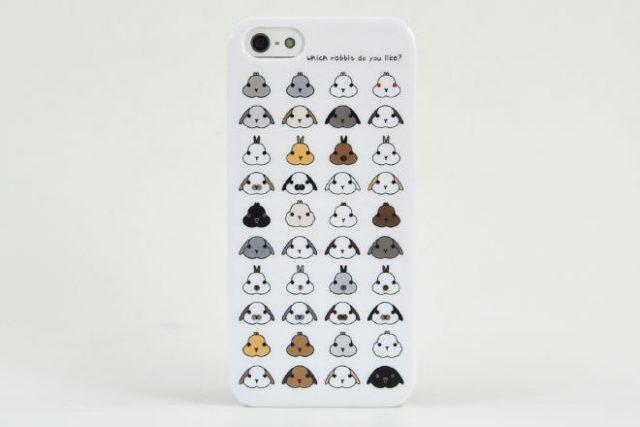 ウサギ iPhone5カバー N様