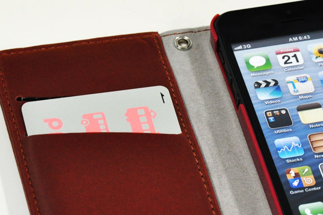 iPhone5/5s/SE ダイアリーケース(合皮)-3