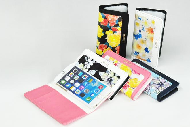 iPhone6専用 手帳型レザースマートフォンケース