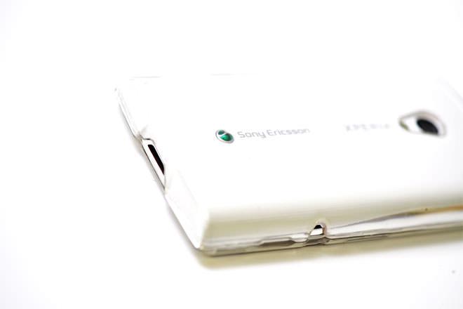 丈夫な Xperiaカバー 自社オリジナル