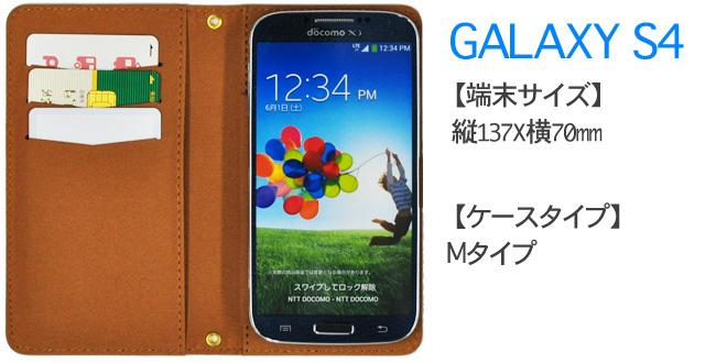 GALAXY S4装着イメージ