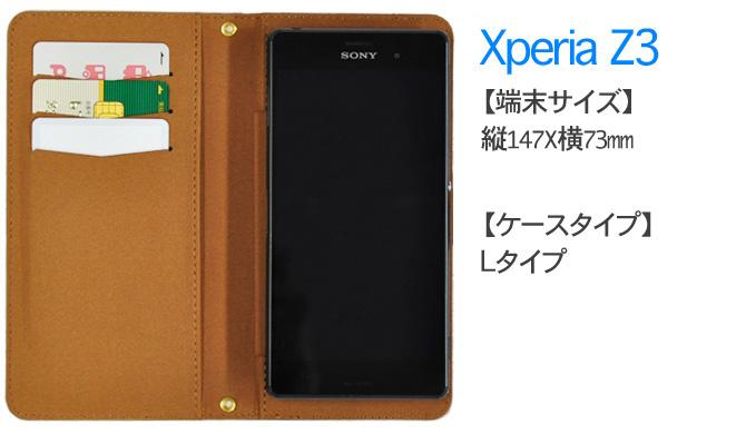 Xperia Z3装着イメージ