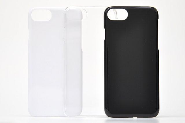 iPhone8/7/6兼用 無地ハードケース