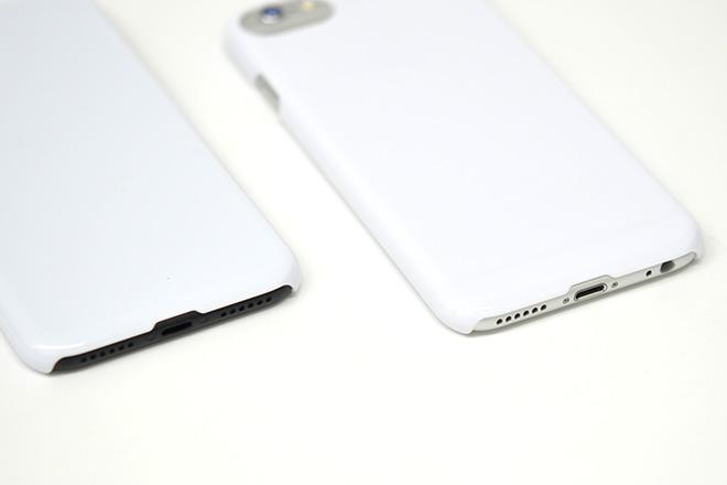 iPhone8/7/6兼用 無地ハードケース-4