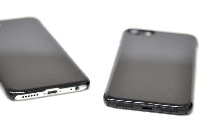 iPhone8/7/6兼用 無地ハードケースの取り扱いを開始いたしました