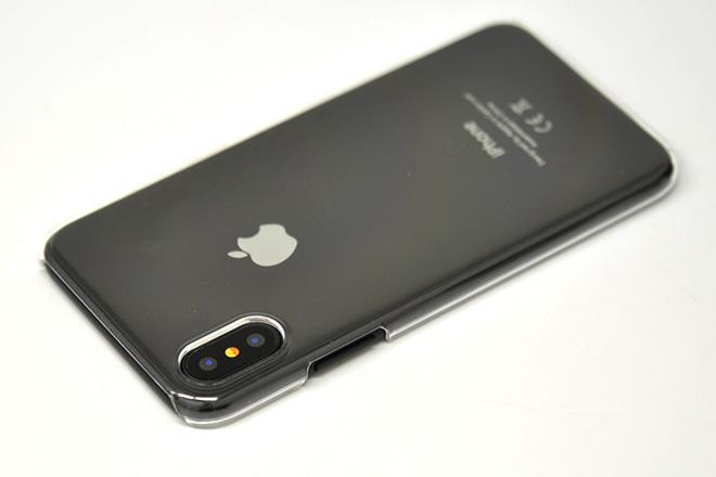アップルマークをそのまま見せる、シンプルなiPhoneケース