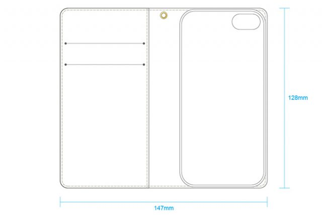 iPhone 5用ケース