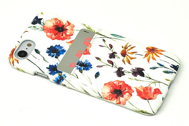 iPhone8/7/6兼用ポケット付きレザーケース インクジェット印刷-5