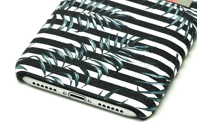 iPhoneXポケット付きレザーケース インクジェット印刷-8