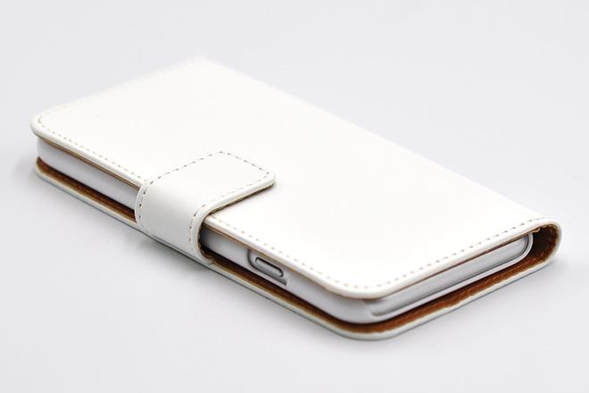 iPhone8/7/6兼用 手帳型無地ケース-5