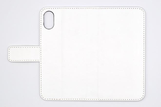 iPhoneX 手帳型無地ケース-2