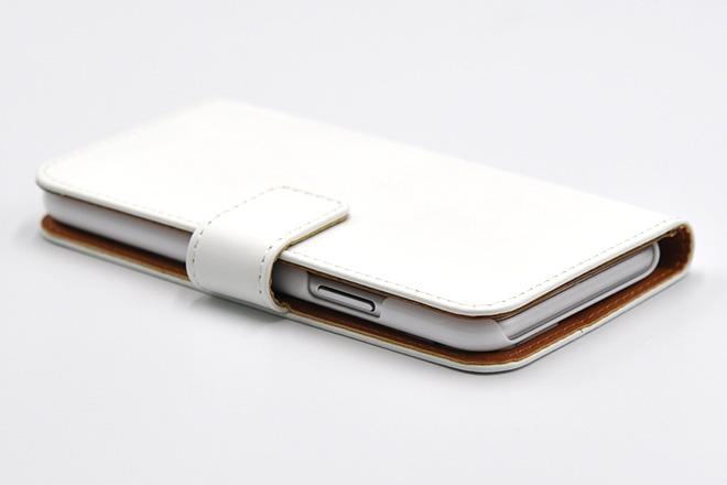 iPhoneX手帳型無地ケース
