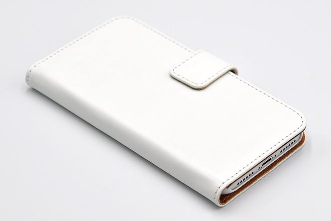 iPhoneX 手帳型無地ケース-5