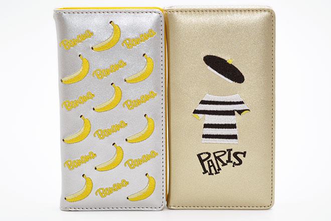 刺繍を使用したiPhoneケースの制作実績