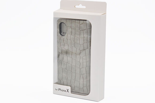 iPhone6/7/8、iPhoneX 手帳型クロコケース-8