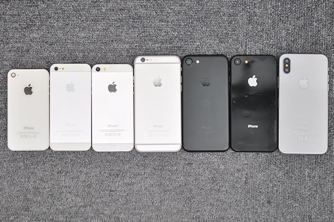 2d0c63bed7 歴代iPhoneのサイズ一覧とケースの汎用性 | オリジナルスマホケースの ...
