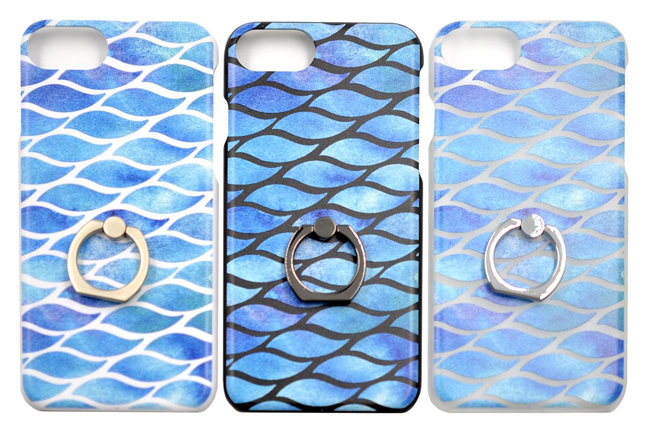 さわやかなカラーが印象的なリング付きiPhone8/7/6兼用ケース-3