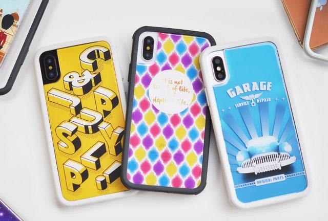 iPhone XS/X兼用 耐衝撃ケース
