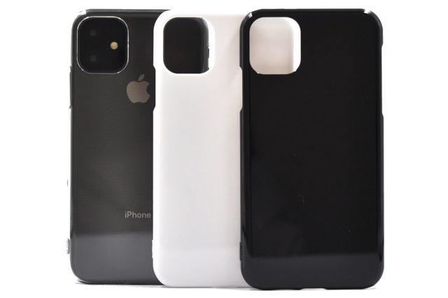 iPhone 11 無地ハードケース(ストラップホール付き)