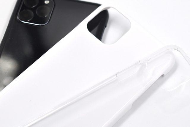 iPhone 11 Pro Max 無地ハードケース(ストラップホール付き)