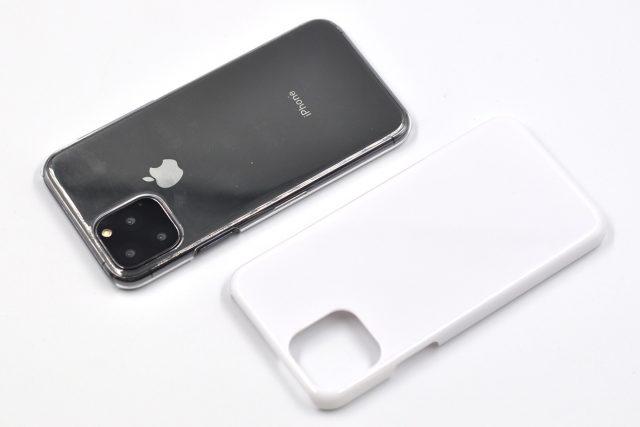 iPhone 11 Pro 無地ハードケース(ストラップホール付き)